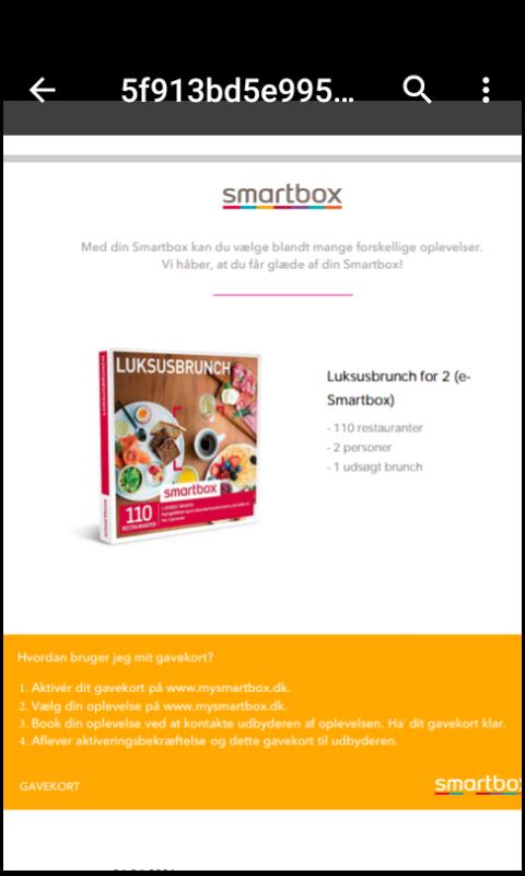 S: smartbox luksusbrunch